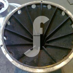 18 - Revestimento de Poliuretano em Rotor da Centrifuga